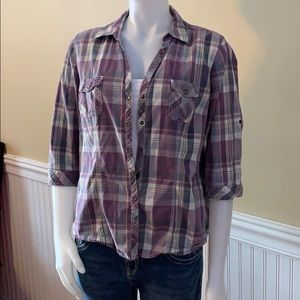 Ladies Sonoma Sz XL button down comfy shirt